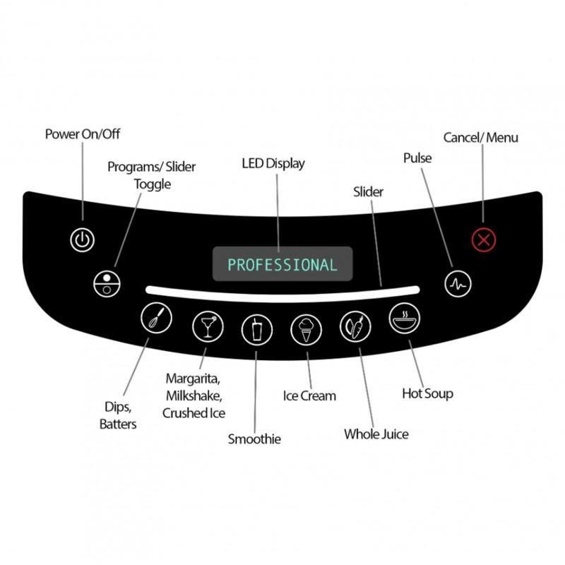 Blendtec Professional Blender (Professional 800 Black)