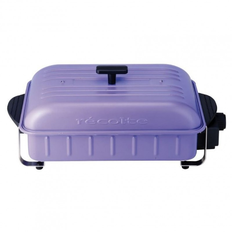 récolte Home BBQ Table Cooking Plate (RBQ-1 Starry Purple)